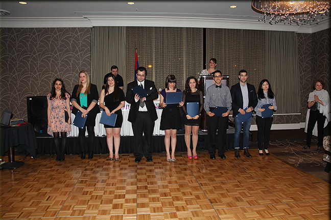 Armenian Cultural Association of British Columbia Scholarship Winners