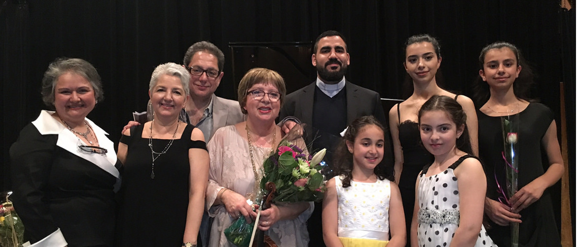 Concert for Syrian Refugees in Vancouver